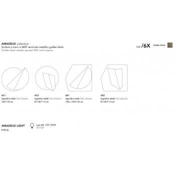 Applique AMADEUS F151/6 ADRIANI & ROSSI