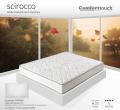 Materasso SCIROCCO molle tradizionali e memory Comfort Touch