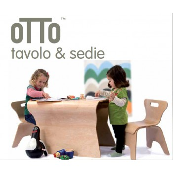 OTTO TAVOLO & SEDIE BLOOM