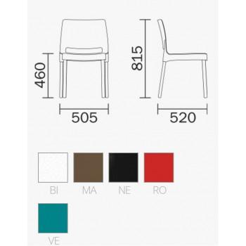 SEDIA JOI 870-870/CL1 PEDRALI